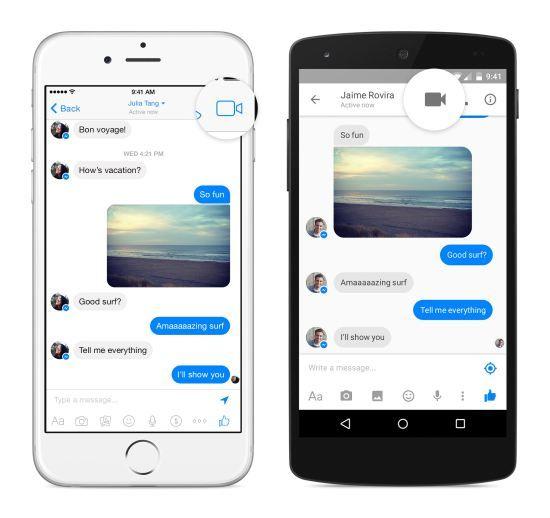 ONE: Las videollamadas de Facebook Messenger ya estan disponibles para todos los usuarios