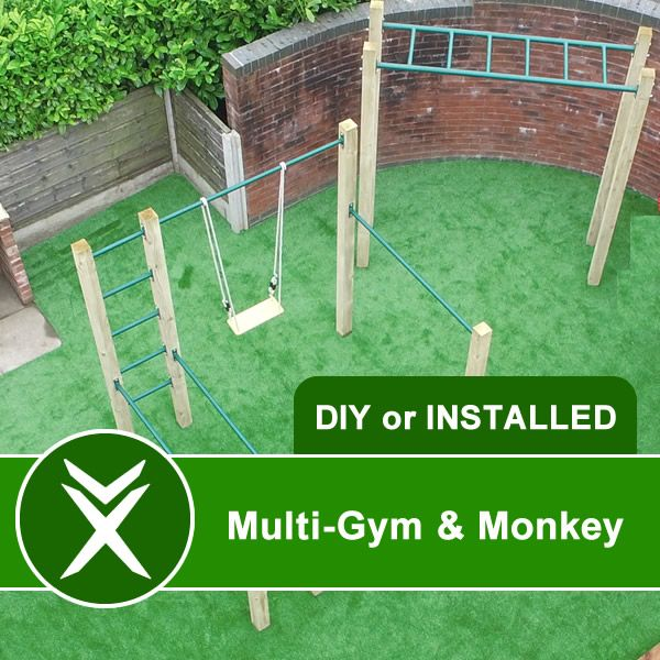 outdoor gym and monkey bar