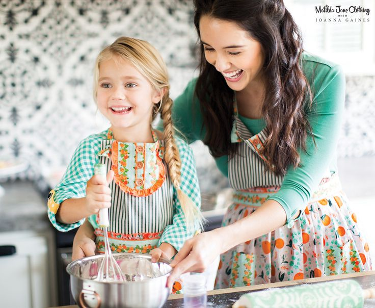 Matilda Jane with Joanna Gaines: Baked from Scratch and Secret Ingredient Aprons