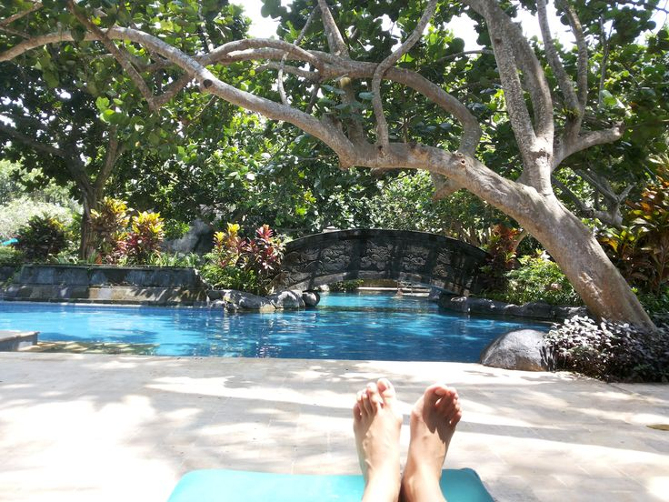 Lagoon Pool. Hyat Regency , Yogyakarta. #hyatt #yogyakarta