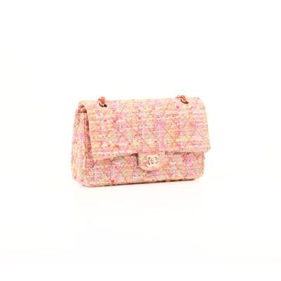 Chanel Timeless Tweed Flúor Multicolor Double Flap| CBL Bags