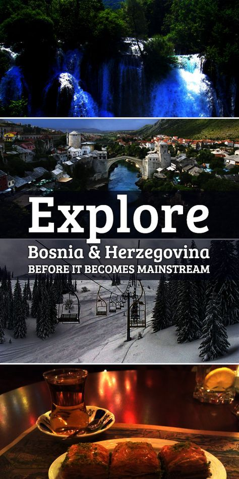 Explore Bosnia and Herzegovina- the unexplored destination in Europe. Travel tips of Bosnia and Herzegovina, itineraries and travel plans ideal for Summer Vacation. Sarajevo, Banja Luka Tuzla- Visit the under-rated beautiful cities of Europe!