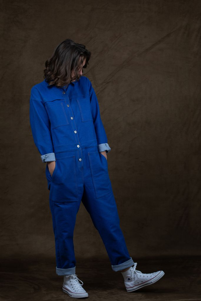Boiler Suit Sewing Pattern : boiler, sewing, pattern, Boilersuit, Coverall, Sewing, Pattern,, Ready, Patron, Couture, Combinaison, Workwear,, Boiler, Suit,, Coveralls,, Patterns