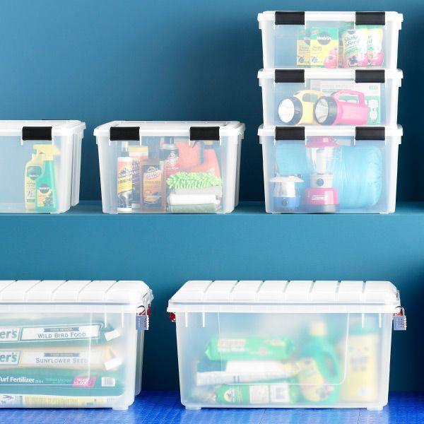 Clear Weathertight Trunk. Toy StorageStorage ...