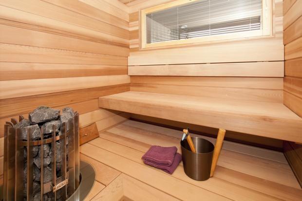 Kokkolan Merihelmi - Huoleton lapsiperheen koti - Sauna | Asuntomessut