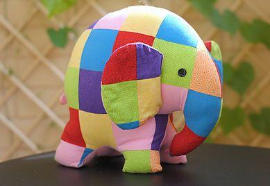 Patchwork elephant Elmer