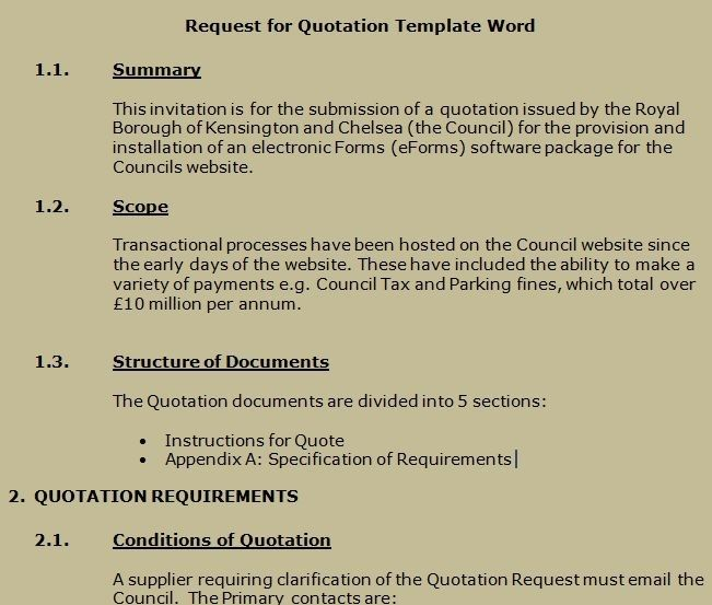 Request For Quote Template Excel 1 Easy Rules Of Request For Quote Template Excel Quotation Template Word Quote Template Quotations