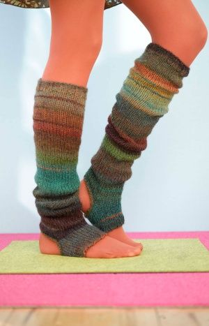 Sausalito Stirrup socks from Lion Brand (free pattern)