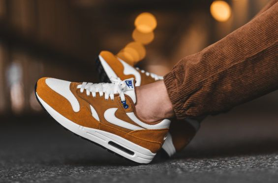 the best attitude ab205 f4a5e On-Feet atmos x Nike Air Max 1 Curry Releasing in a couple of