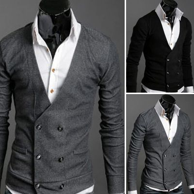 Double Breasted Cardigan Sweater - a classic