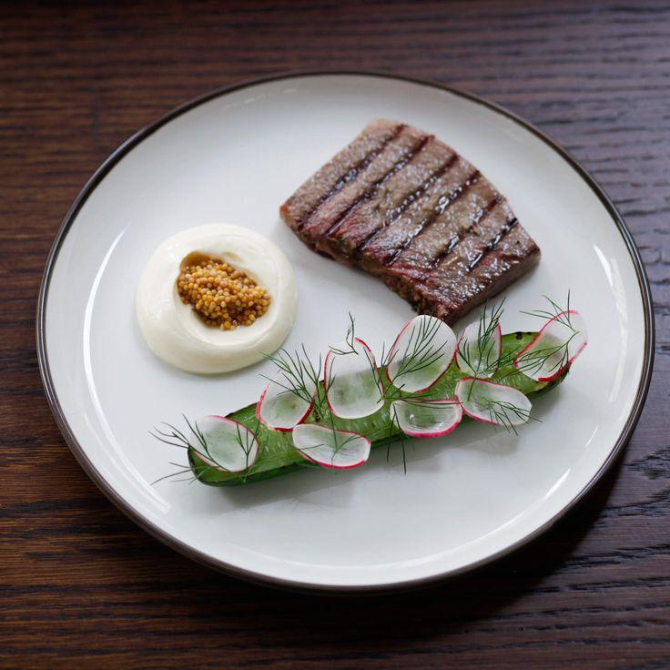 """Clipstone  """"Basque chicken liver parfait served with txakoli apple…"""""""