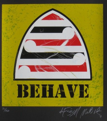 Behave by Weston Frizzell - New Zealand Art Prints