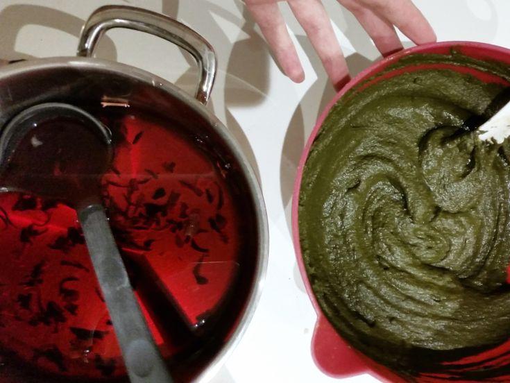 coloration naturelle au henn du ymen et hibiscus pour des cheveux qui craignent la chute - Henn Coloration Cheveux