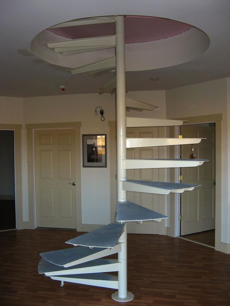 Modular Spiral Stairs With Minimal Support That Art