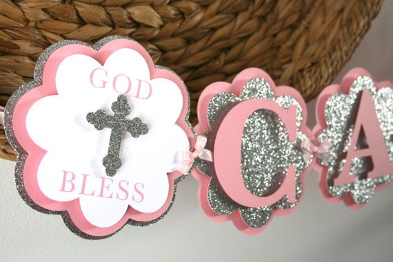 Baptism Banner  Confirmation Banner  Communion by treelittlebirdz