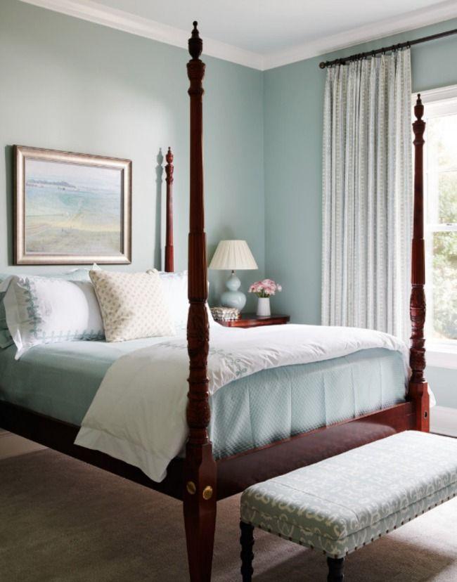 Blue Master Bedroom Fair Design 2018