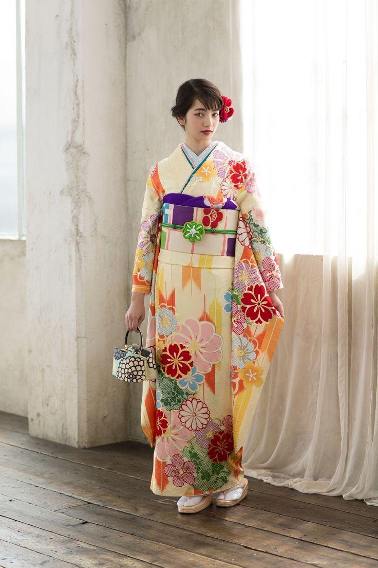 Komatsu Nana 小松菜奈 for Kyoto Kimono Yuzen 京都きもの友禅 - Japan - February 2017