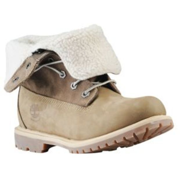 Timberland Teddy Fleece Fold Down Boots - Women's at Lady Foot Locker
