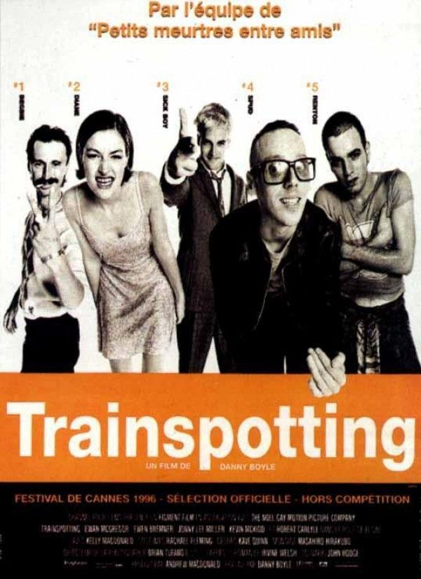 Affiche du film Trainspotting