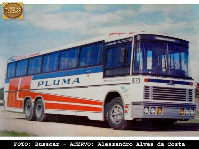 Pluma antigo_8130 - BARRAZABUS :Onibus do Brasil e do Mundo! - Fotopages.com