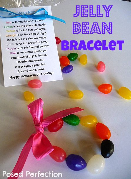 Posed Perfection: Jelly Bean Easter Bracelets