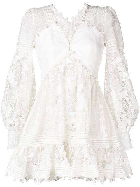 aeb116e94dff Shop Zimmermann short lace dress