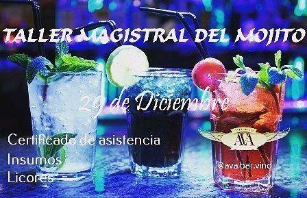 Le invitamos a participar en nuestro Taller Magistral del Mojito  Para mayor información llame al teléfono 04242381812 o escriba a yelitzaridriguez1977@gmail.com  #cursos #taller #Magistral #MasterClass #barman #bartender #bar #barra #coctel #cocteleria #FelizLunes #sonrie #smile #Feliz #Caracas #Guatire #Venezuela
