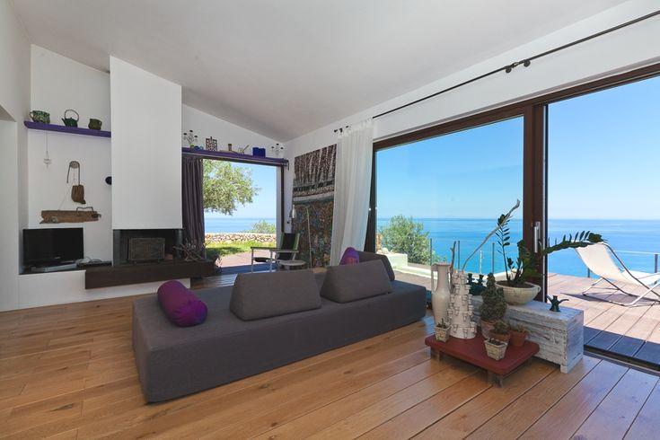 Luxury Sicilian villa with breathtaking sea views