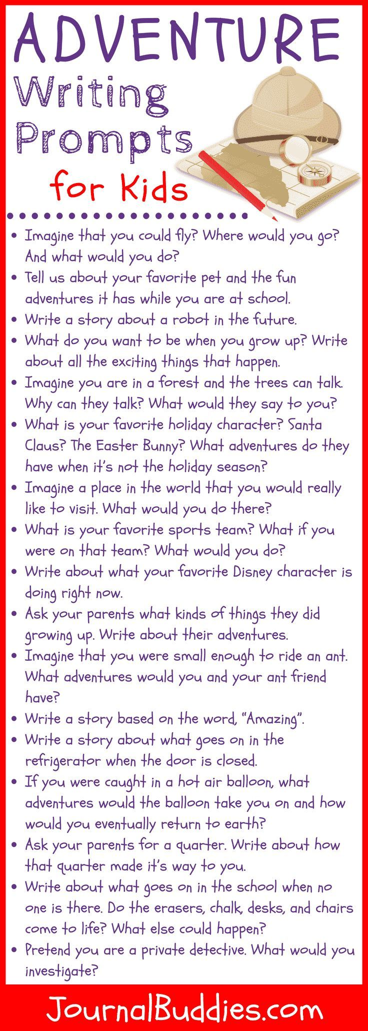 Adventure Story Ideas Prompts For Kids Writing Prompts For Kids Kids Writing Creative Writing For Kids [ 2061 x 736 Pixel ]