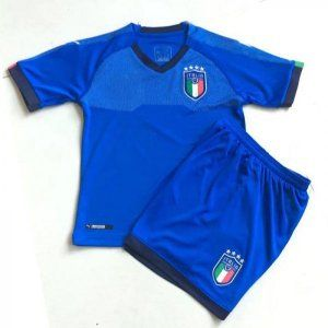 2018 Youth Kit Italy Home Replica Blue Suit [BFC345]