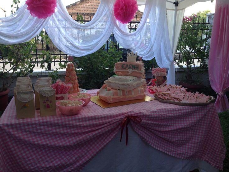 Princess birthday cake