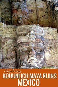 Exploring Kohunlich Maya Ruins and Temple of the Masks in Mexico with kids