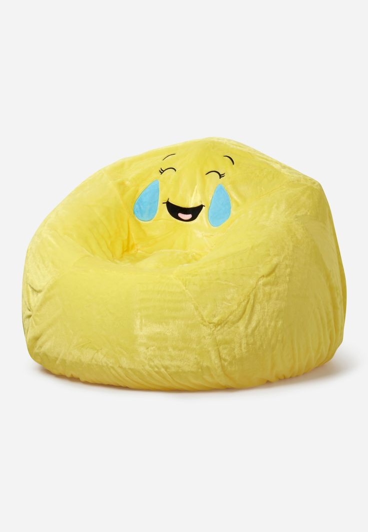 Emoji Inflatable Chair Slip Cover