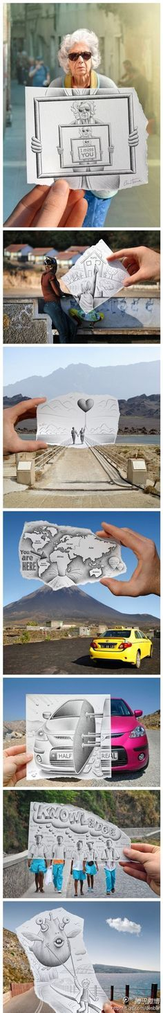 Creative camera art by Ben Heine. More images after the link jump.