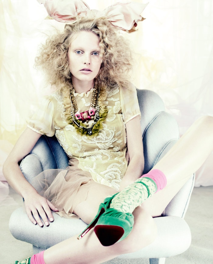 Morning Beauty   Patricia van der Vliet by Mario Testino ♡