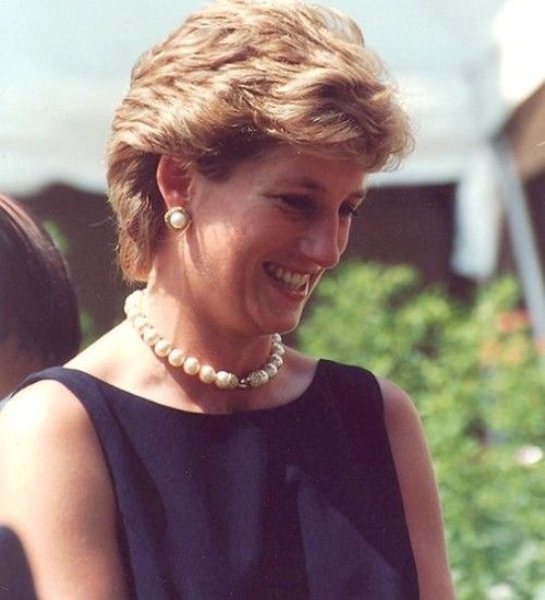 Princess Diana in Moscow.