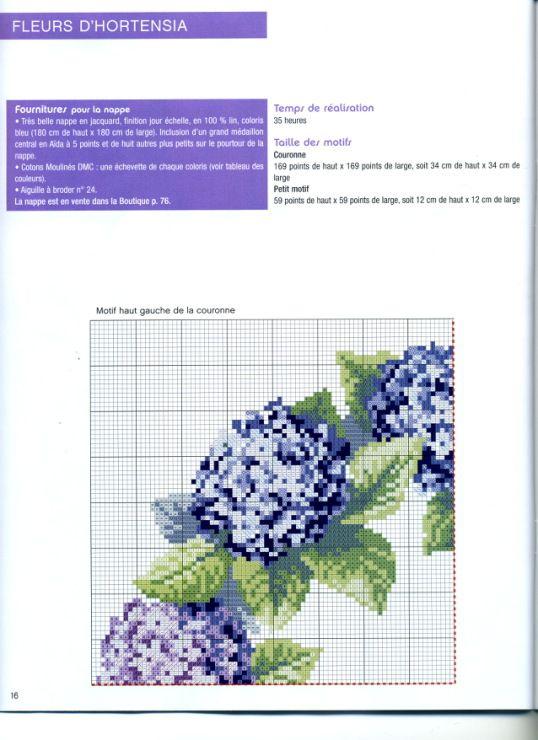 紫陽花 Hydrangea wreath