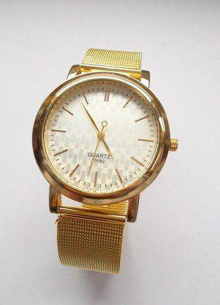Kup mój przedmiot na #vintedpl http://www.vinted.pl/akcesoria/bizuteria/16169219-zegarek-zloty-nowy-z-metkami-idealny-na-prezent-mikolajki-sylwestra