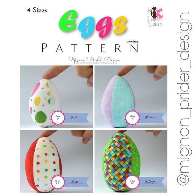 New sewing pattern: EGGS Make 1 or 10 dozen fabric eggs with this super quick and easy scrap buster pattern. Available on @etsyau , @madeit & @craftumi just $5AUD. Check my blog links to all my shops - link in bio. ▪ #sewingpatterns #sewingtoys #toysewingpattern #toydesigner #softtoypattern #softtoys #australiandesigner #etsysellersofinstagram #etsyseller #etsyau #handmadeau #madeitseller #madeinaustralia #craftumiseller #diyproject #eastereggs #easter