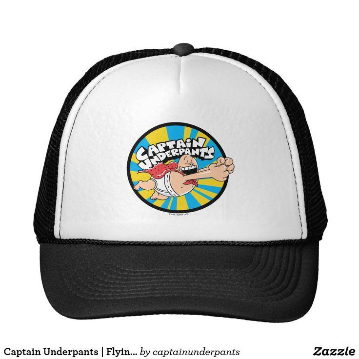 Captain Underpants | Flying Hero Badge. Producto disponible en tienda Zazzle. Accesorios, moda. Product available in Zazzle store. Fashion Accessories. Regalos, Gifts. #gorra #hat