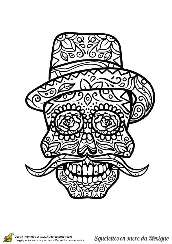 Best 25 dessin tete de mort ideas on pinterest tatouage tete mexicaine dessins calavera and - Tatouage tete de mort mexicaine ...