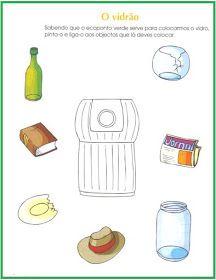 A colega Ana Amador  do JI de Sabugueiro  partilha connosco estas fichas de trabalho sobre a reciclagem .  (clique nas imagens para abrir)  ...
