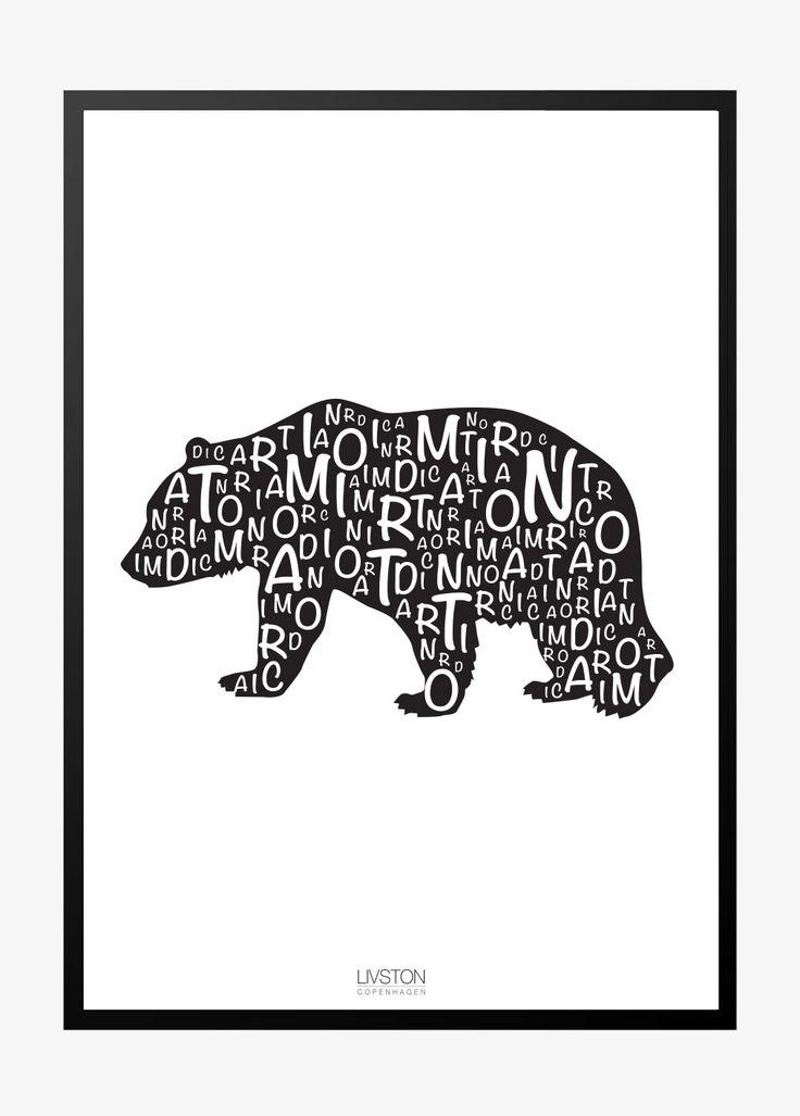 I am Nordic plakat – Bjørn
