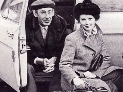 Владимир Басов. Третья жена - Валентина Титова.