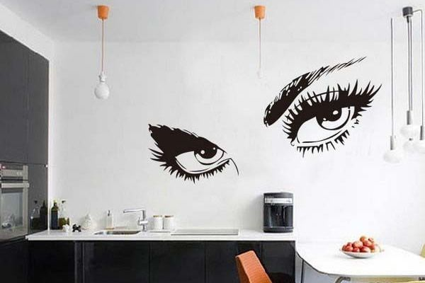The benefits of wall decals for living room