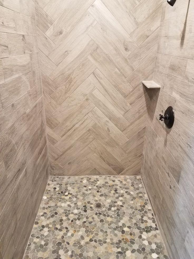 Best 25 Pebble Tile Shower Ideas On Pinterest Pebble
