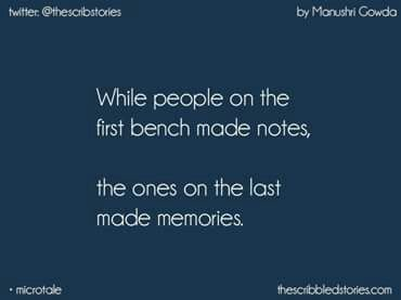 Memory of school life essay