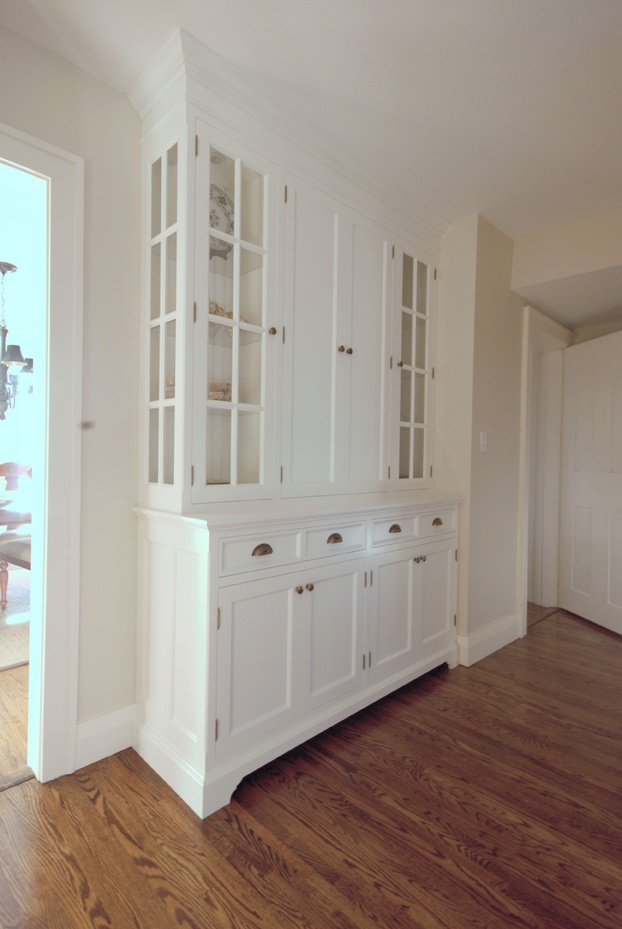 pantry hall cabinet