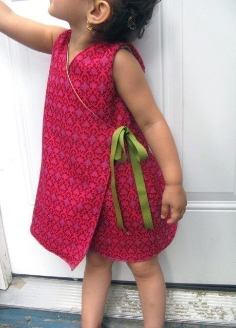Patron robe kimono fille