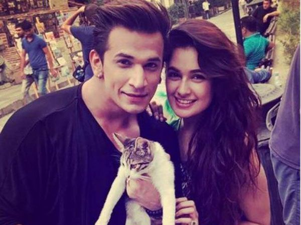 Yuvika Chaudhary spending time with her alleged boyfriend Prince Narula in Goa